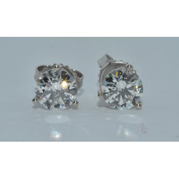 14K WG Diamond Stud I/I1