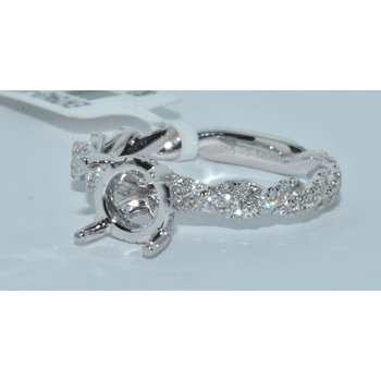 14K WG Diamond Engagement Ring