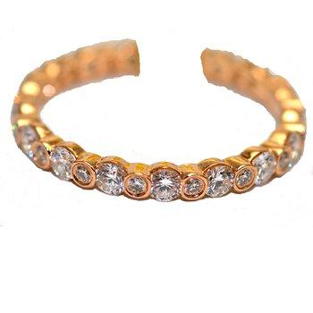 Unique Lady 18k rose gold ent ring