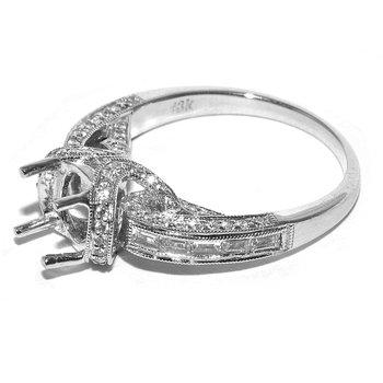 Romantic Diamond Engagement