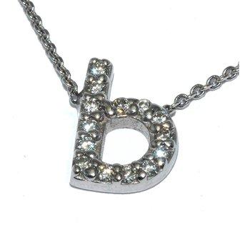 Stylish Letter  B  pendant