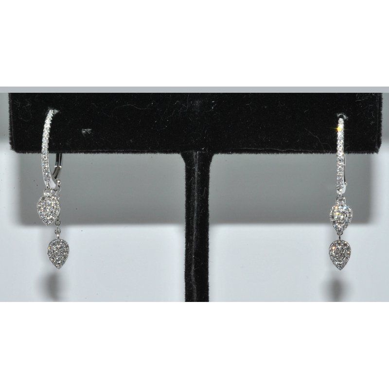 Windy City Signature 14K WG Diamond Earring