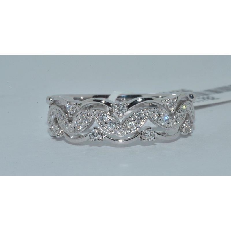 Windy City Signature 14K WG Diamond Fashion Ring