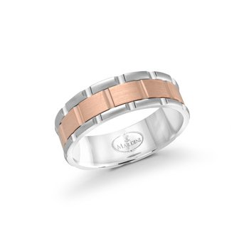 Unique and Modern Gents Wedding Band