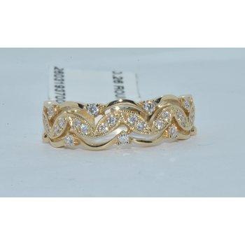 14K YG Diamond ring