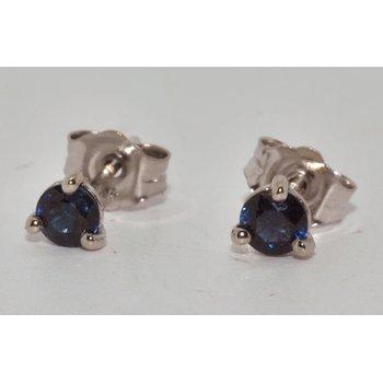 Earrings - Sapphire studs