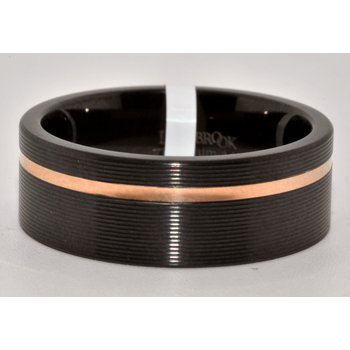 8mm Flat Zirconium w/rounded edges 1mm
