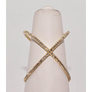 X Diamonds Ring