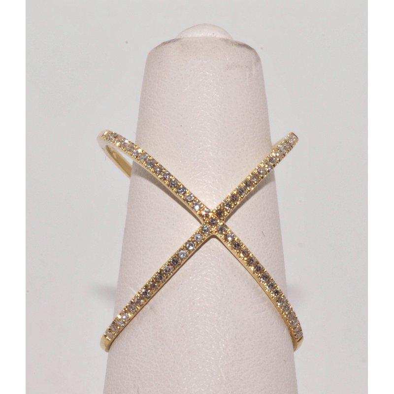 Windy City Signature X Diamonds Ring