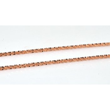 14K RG Margarita 1.2mm Chain