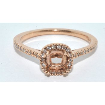 14K Rose Gold Eng Ring