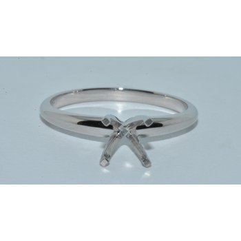 Plat Sol 4 prong ring