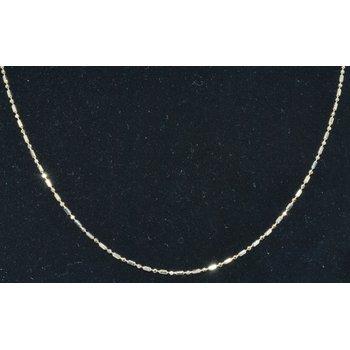 """Chain 18"""" Wheat 14k YG 1.2mm"""