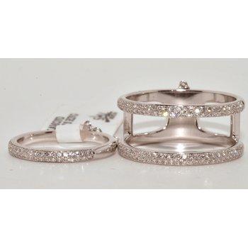 14K WG Diamond Ladys Ring