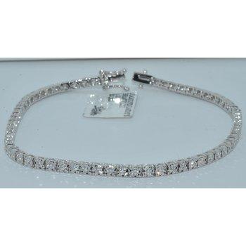 14K WG Diamond Ladys Tennis Bracelet