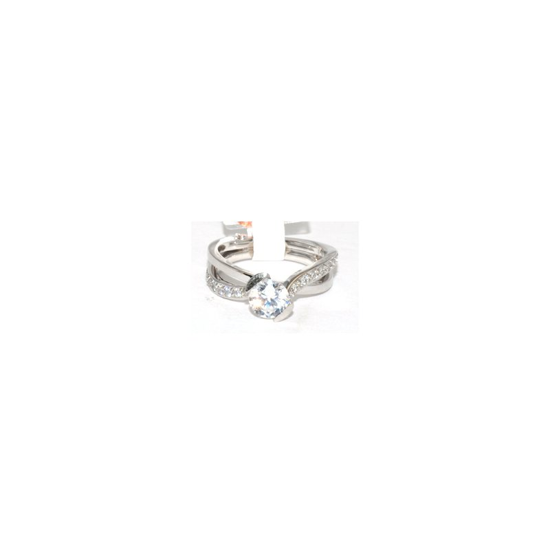 Windy City Signature Elegant Split Engagement Ring