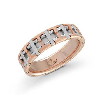 Stunning & Intricate Gents Wedding Band