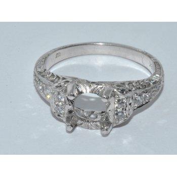 Vintage Style Diamond Engagment