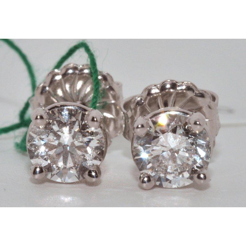 Windy City Signature Diamond Stud Earrings