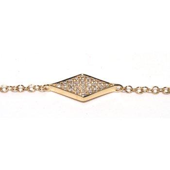 Rhombus Diamond Bracelet