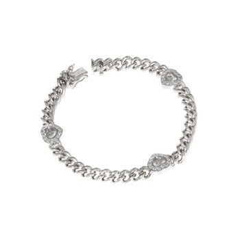 Chopard - Vintage 18K White Gold and Diamond Bracelet