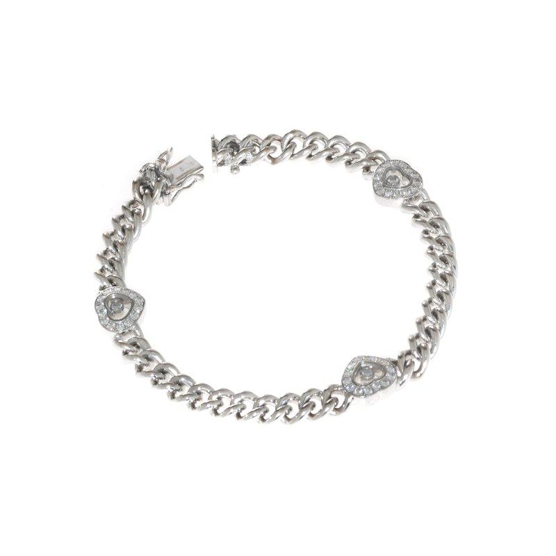 Chopard - Vintage 18K White Gold and Diamond Bracelet