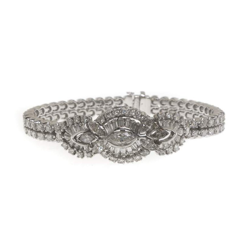 Platinum and Diamond Bracelet