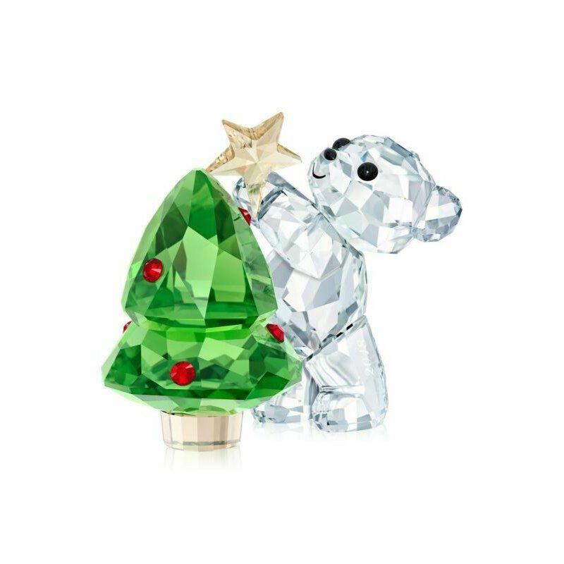 Swarovski Crystal Kris Bear - Christmas Annual Edition 2018