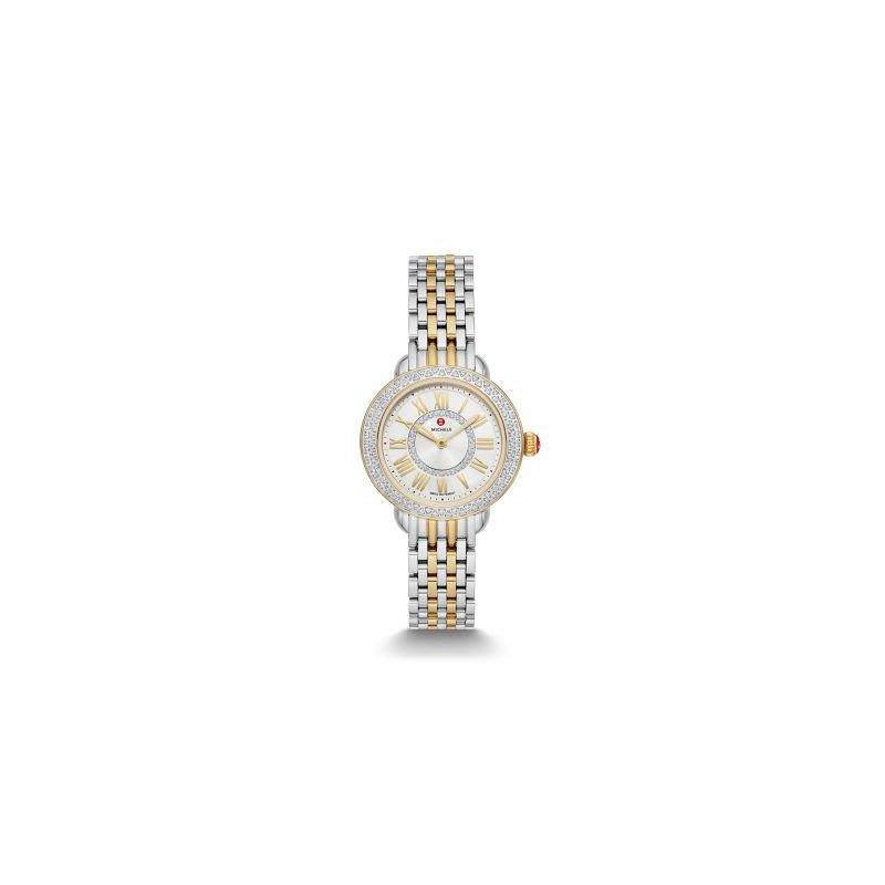 MICHELE Serein Petite Two-Tone Diamond Watch