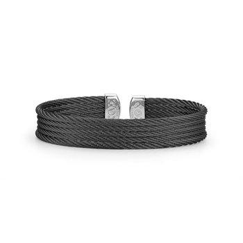 Alor Black Cable Mini Cuff