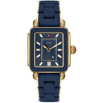 Sport Deep Blue Dial Gold Watch