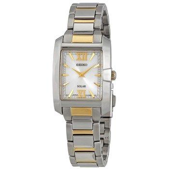 Core Solar White Dial Ladies Watch