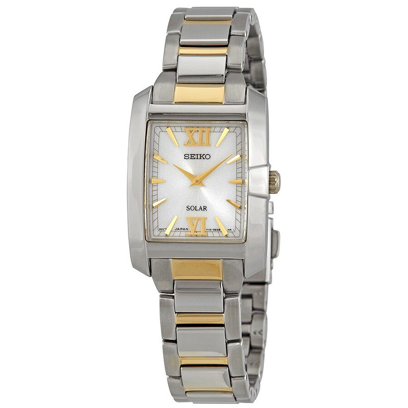 Seiko Core Solar White Dial Ladies Watch