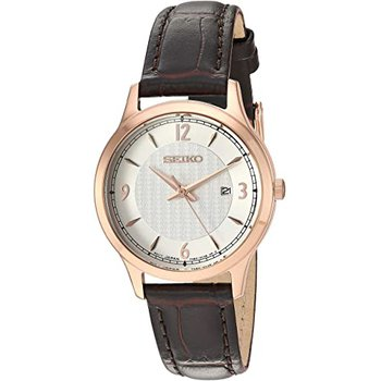 Quartz Silver Dial Ladies Watch