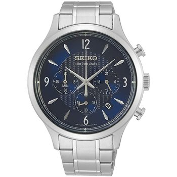 Conceptual Chronograph Quartz Blue Dial Men'S Watch Ssb339