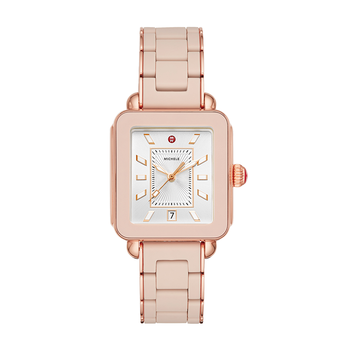 Sport Pink Gold Desert Rose Wrapped Silicone Watch