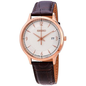 White Dial Quartz Men'S Watch