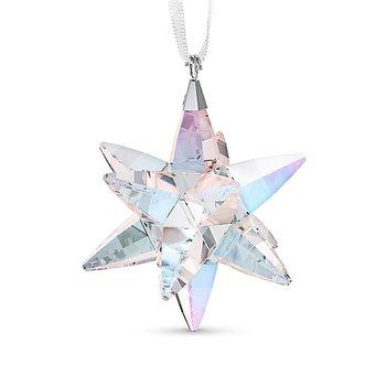 1.88-Inch Crystal Medium Shimmer Star Christmas Ornament
