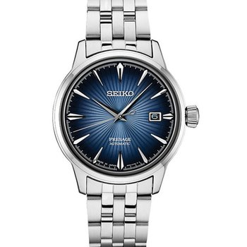 "Seiko Presage ""Cocktail Time"" Automatic Dress Watch With 40Mm Case #Srpb41"