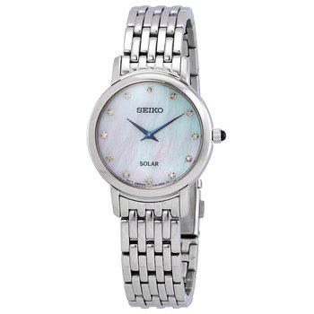 Solar Mother Of Pearl Dial Ladies Watch