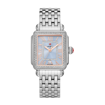 Madison Stainless Diamond Watch