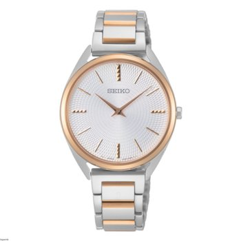 Japanese Quartz Stainless Steel Strap, Two Tone, 0 Casual Watch