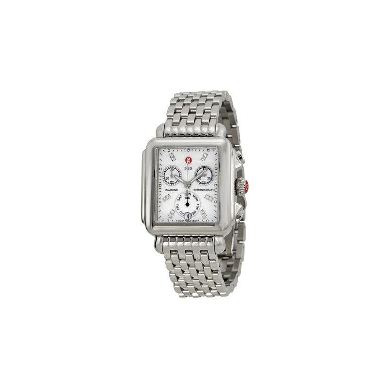 MICHELE Deco Diamond Dial Ladies Watch