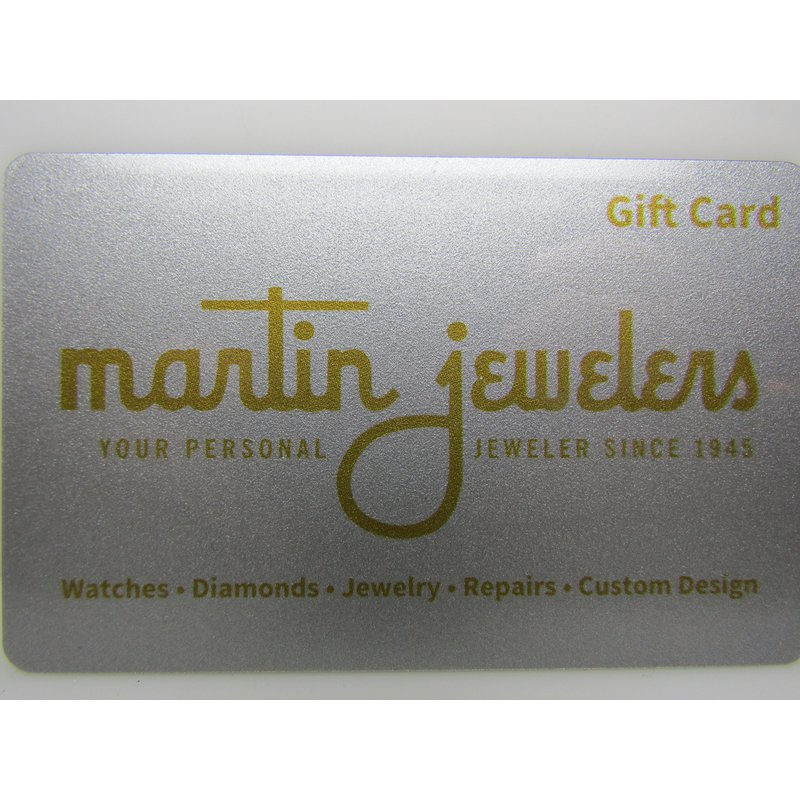 Martin Jewelers Gift Card