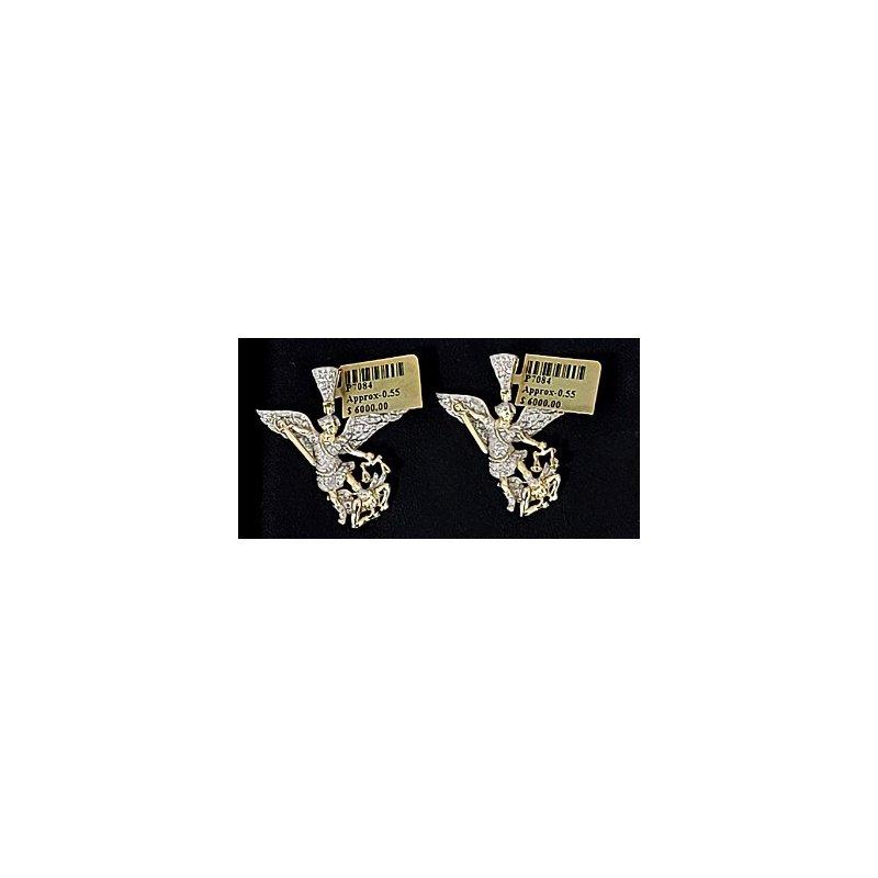 Custom Jewelry Diamond Archangel