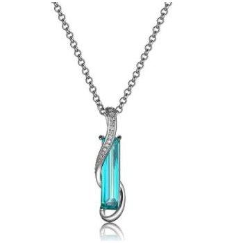 Mystic Green Quartz Necklace
