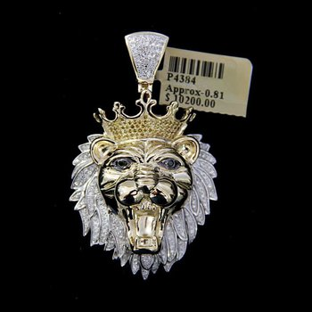 Diamond Lion Head