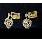 Custom Jewelry Diamond Lion Head