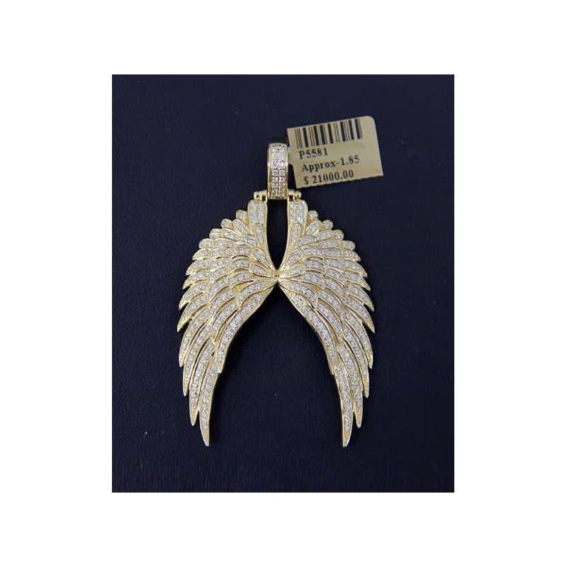 Custom Jewelry Diamond Wings