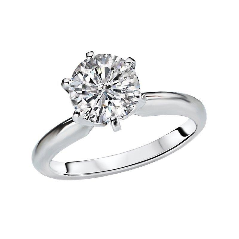 2.50 CT Diamond Engagement Ring